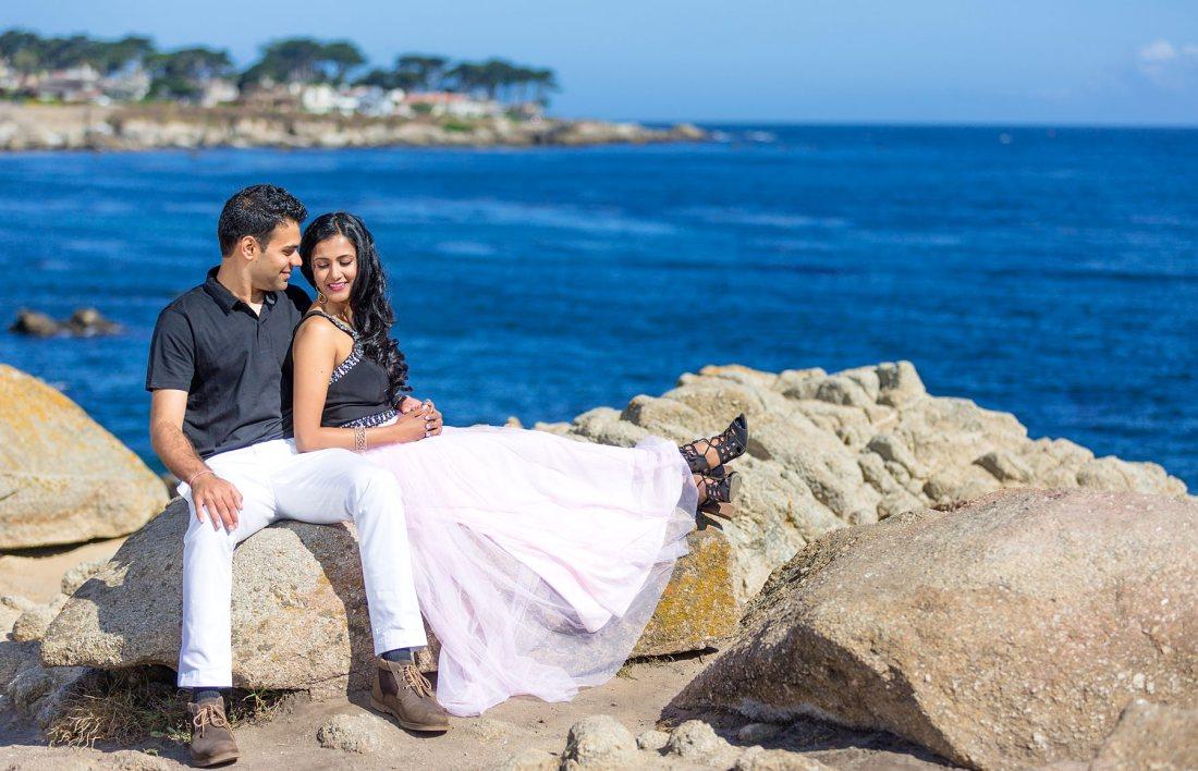 Big Sur Engagement Photography