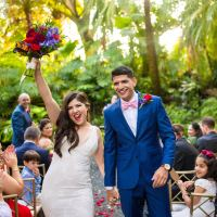 Archit & Melanie's Tropical Destination Wedding at The Cooper Estate Miami