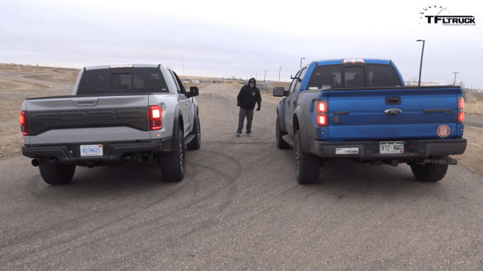 new ford vs old(ish) ford