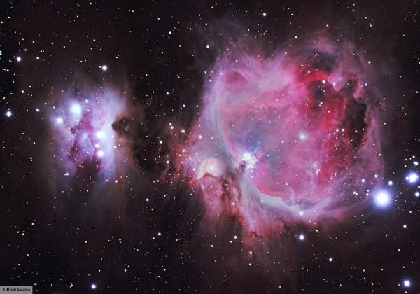 M42, Orion Nebula, Processing
