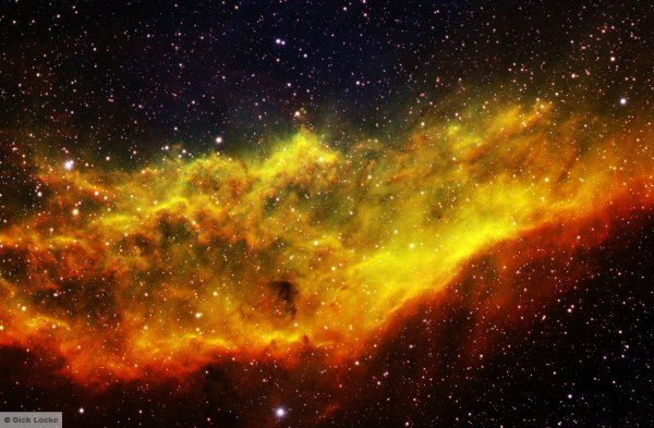 California Nebula - Narrowband and Color Pictures and Images