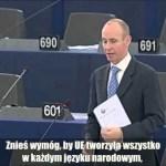 Daniel Hannan o toksycznym euro i orwellizmach w UE