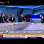 Grzegorz Braun w Polsat News
