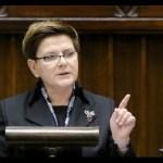 Expose premier Beaty Szydło