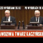 Prawdziwa twarz Kaczyńskiego
