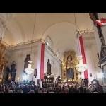 Transmisja Mszy św. w intencji Ojczyzny z kościoła Świętego Krzyża na Krakowskim Przedmieściu