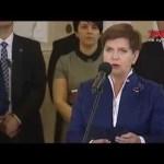 """Zaprzysiężenie rządu Beaty Szydło, ministrów i deklaracja: """"tak mi dopomóż Bóg"""""""