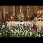 Ingres ks. bp. Tadeusza Lityńskiego do katedry gorzowskiej pw. WNMP