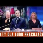 Dwugłos Dudy i Kaczyńskiego, wojna o pomnik i 3000 słów