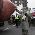 Polacy protestują przeciw CETA