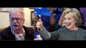 Clintonowa to cyniczna, wredna baba