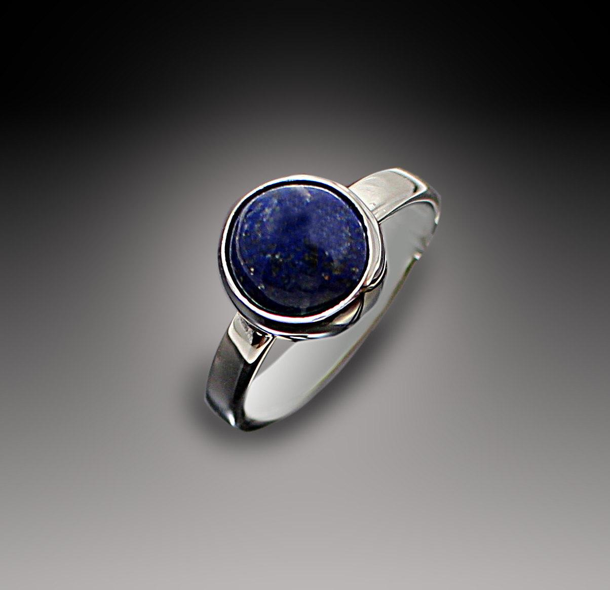 Lapis Lazuli Ring Lapis Ring Lapis Silver Ring Lapis