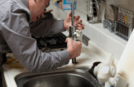 plumber, sink