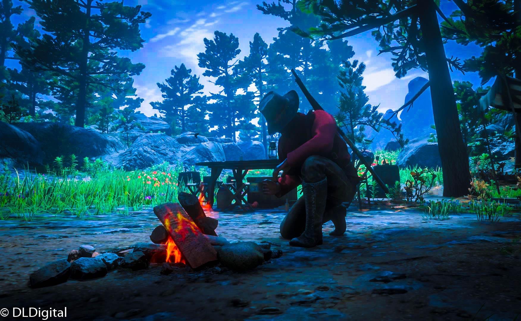red dead online gameplay