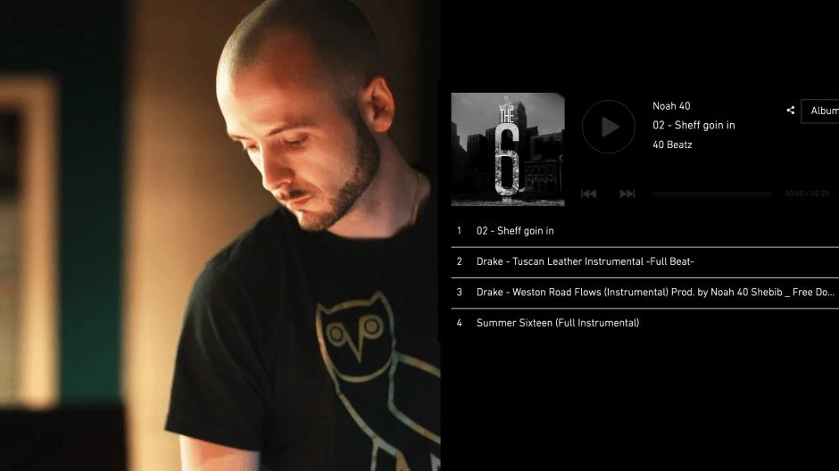 music production web design