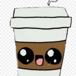 Cafe Cute Kawaii Coffee Cup Cupofcoffee Easy Things To Draw For Your Best Friend Hd Png Download 1024x1024 Png Dlf Pt