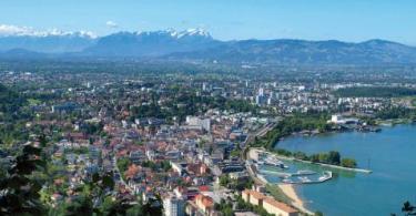 مدينة بريغنز في النمسا