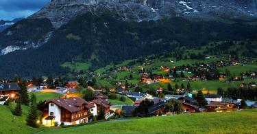 السياحة في جريندلوالد السويسرية