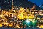 مدينة سانت موريتز السويسرية