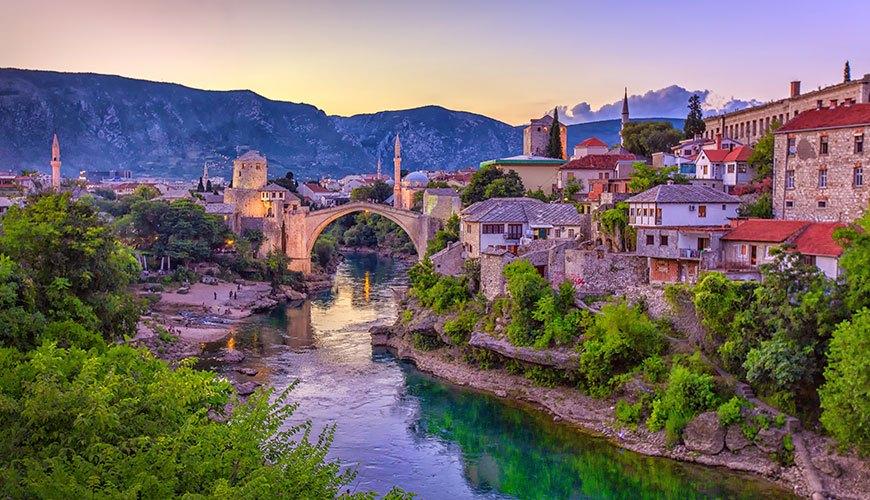 السياحه في البوسنه