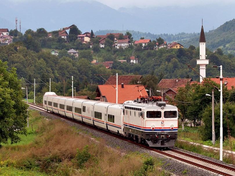 قطار البوسنة