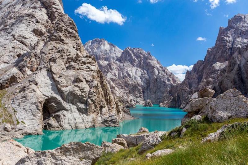 الطبيعة في قيرغستان
