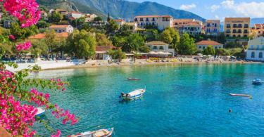 جزيرة كيفالونيا اليونان