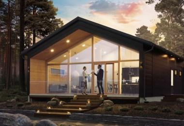 اكواخ خشبية النرويج