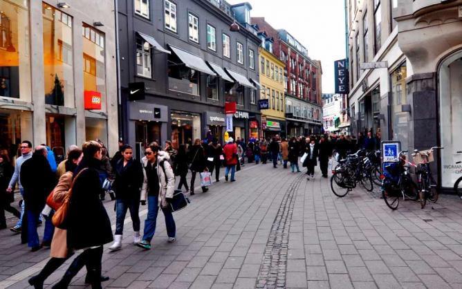 التسوق في كوبنهاجن