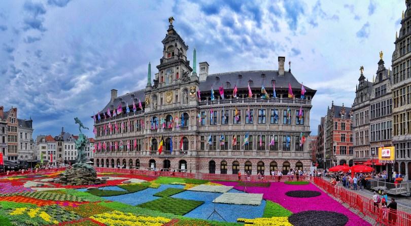 المناطق السياحية في بلجيكا