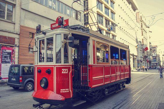 وسائل المواصلات فى تقسيم اسطنبول