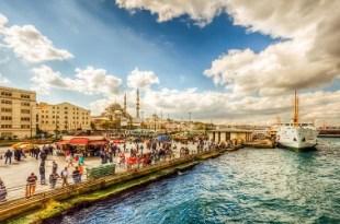 رحلة شهر العسل في اسطنبول