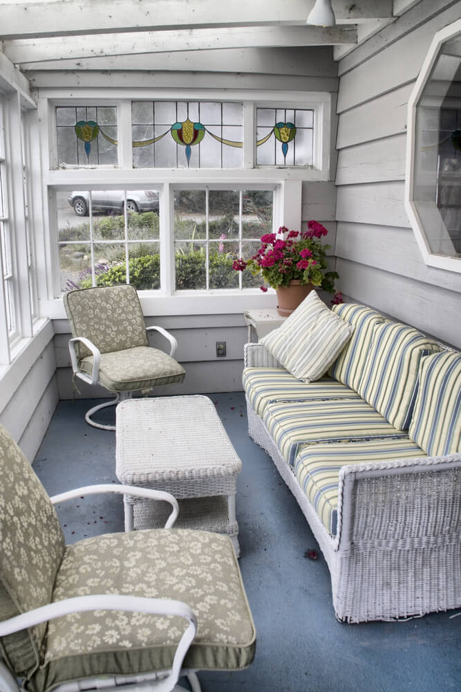 different styles of enclosed patios