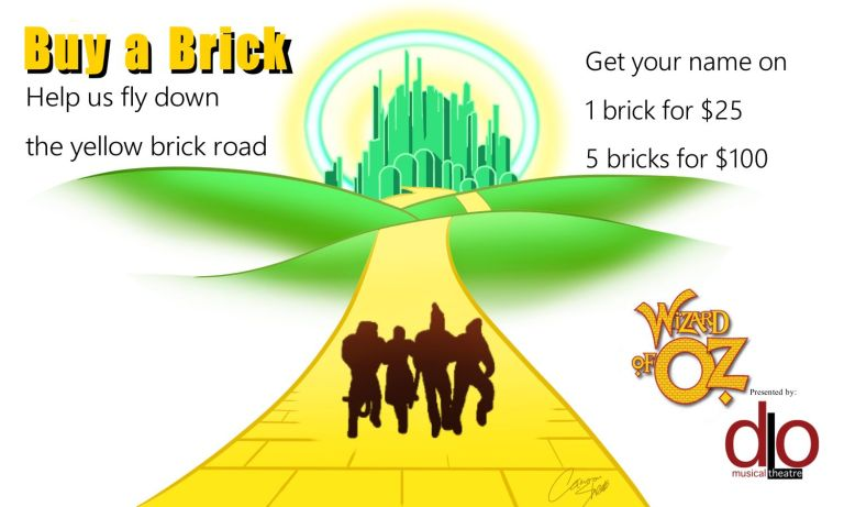Buy a Brick - help us fly down the yellow brick road!