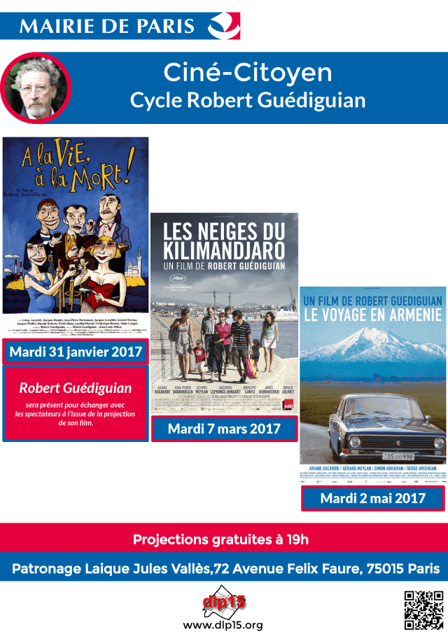 Affiche Cycle Guedigian