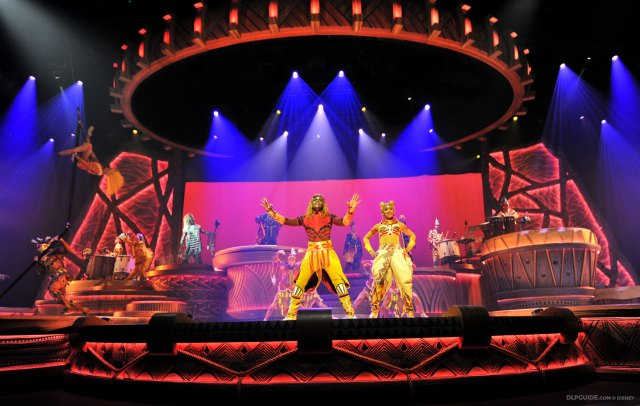 The Lion King: Rhythms of the Pride Lands musical stage show at Disneyland Paris