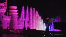 Disney Dreams! Fountains Dancing