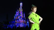 Peter Pan & Tinker Bell 25th Anniversary Castle Illumination