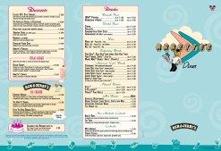 Annette's Diner menu