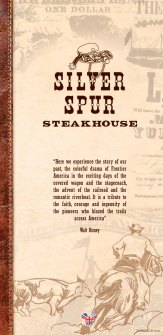 Silver Spur Steakhouse menu