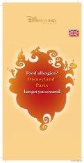 Food Allergies at Disneyland Paris