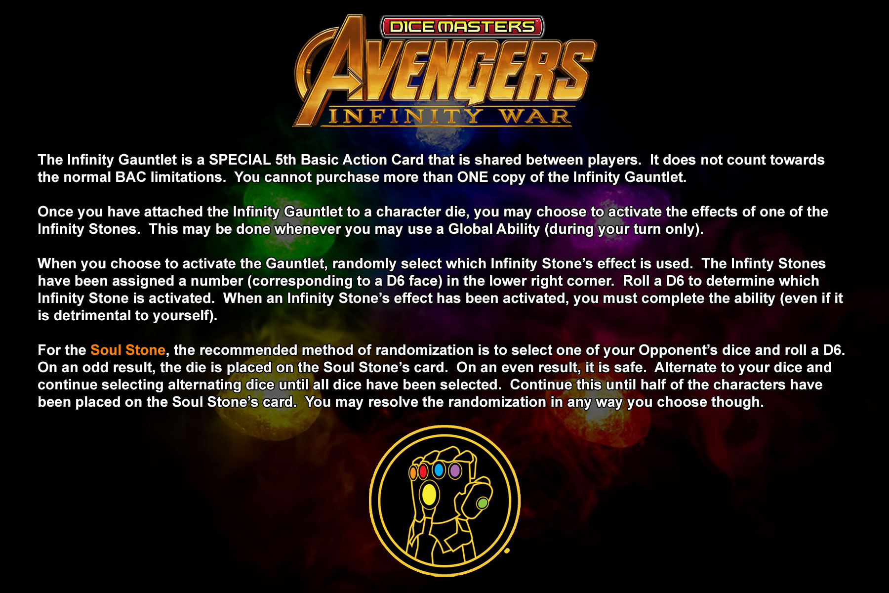 Avengers: Endgame – Dice Masters North