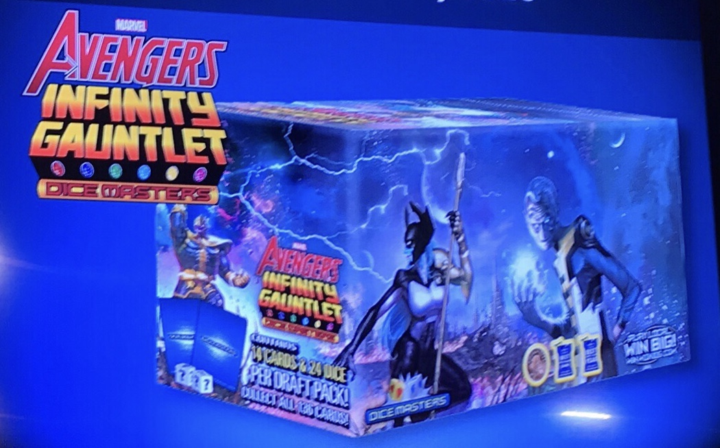 Dice Masters Avengers Infinity Campaign Box Set of Basic Action Cards 10 BACs