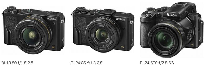「DL18-50 f/1.8-2.8」「DL24-85 f/1.8-2.8」「DL24-500 f/2.8-5.6」の3機種を発売