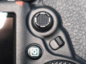 EOS 5D Mark IV マルチコントローラー 測距エリア選択レバー