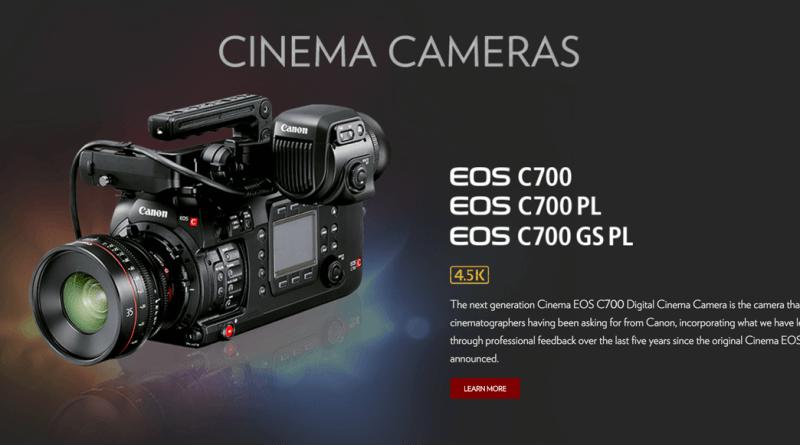 Canon Cinema EOS C700