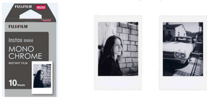 "Fujifilm ""instax mini film Monochrome"""