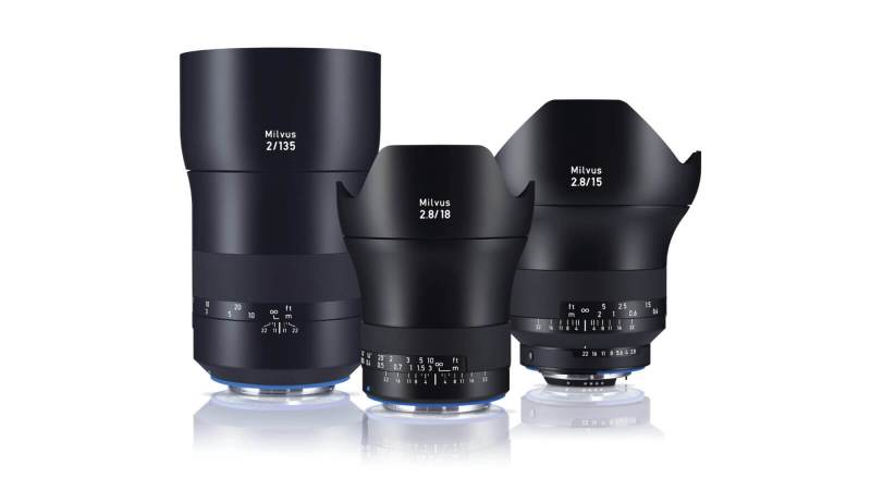 Three new additions for the ZEISS Milvus family