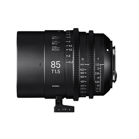 SIGMA CINE LENS 85mm T1.5 FF