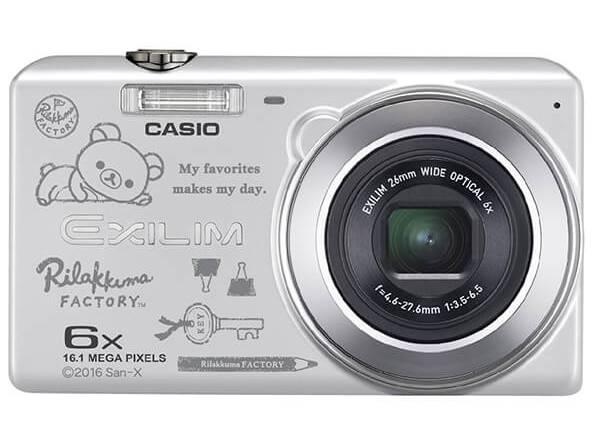 「リラックマファクトリー×CASIO EXILIM EX-Z900SR」